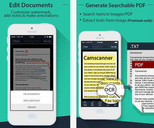 Camscanner-iphone-app
