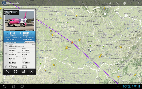 flightradar24-flight-information
