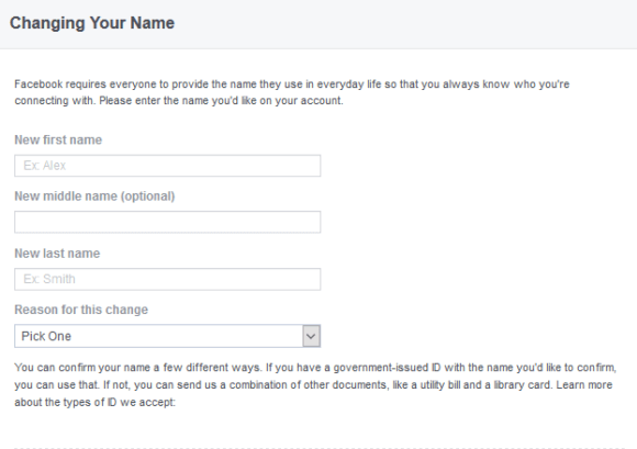 Changing Your Name