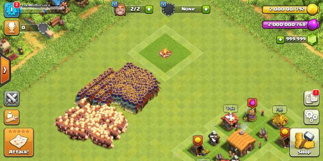 clash of clans hack unlimited troops